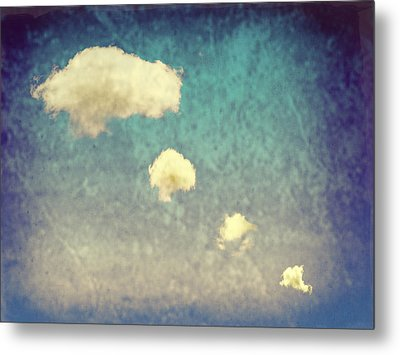 Recycled Clouds Metal Print by Amanda Elwell