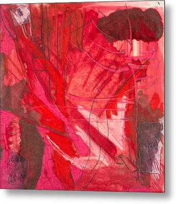 Red. 3 Metal Print by Marie Tosto