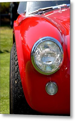 Red Ac Cobra Metal Print by Dean Ferreira