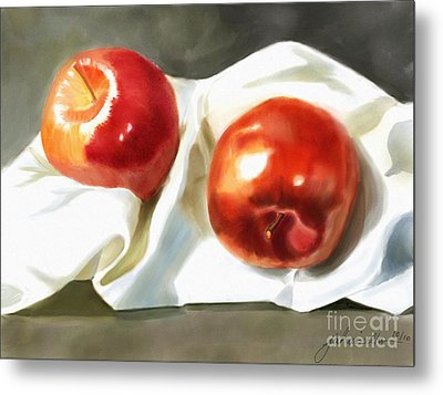 Red And Juicy Metal Print