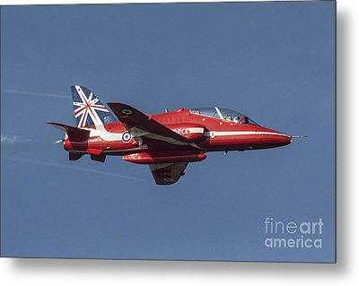 Red Arrows 50 Display Seasons Metal Print by J Biggadike