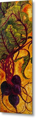 Red Beets Metal Print by Paris Wyatt Llanso