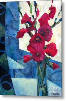 Red Bouquet 2 Metal Print