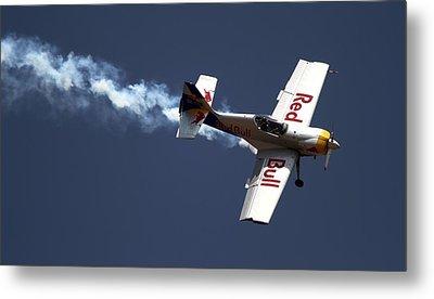 Red Bull - Aerobatic Flight Metal Print