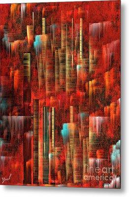 Concrete Jungle Metal Print by Yul Olaivar