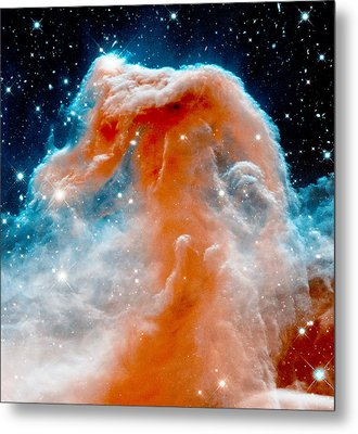 Red Cloud Walker Metal Print