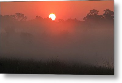 Metal Print featuring the photograph Red Dawn by Peg Urban