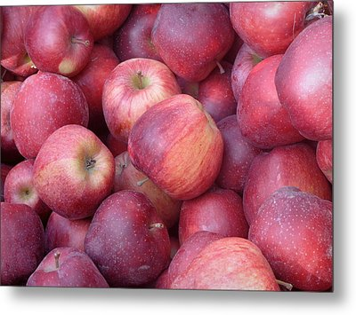 Metal Print featuring the photograph Red Delicious by Joseph Skompski