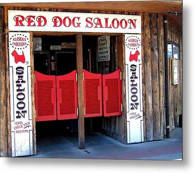 Red Dog Saloon Juneau Metal Print