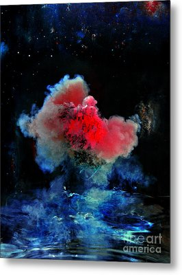 Red Dwarf Metal Print by Petros Yiannakas