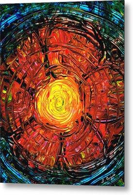 Red Flower Art - Incurable Romantic - By Sharon Cummings Metal Print by Sharon Cummings