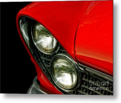 Red Hot Classic  Metal Print by Inspired Nature Photography Fine Art Photography