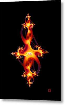 Red Jewel Metal Print