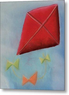 Red Kite Metal Print by Joshua Maddison