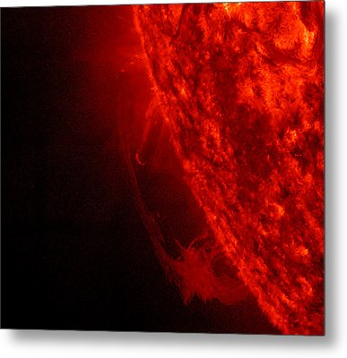 Red Letter Day Metal Print by Sunny Day