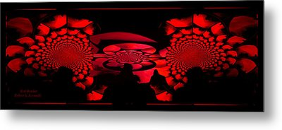 Metal Print featuring the photograph Red October by Robert Kernodle