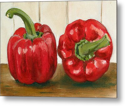 Red Pepper Metal Print by Sarah Lynch