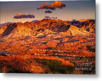 Red Planet Metal Print by Mark Myhaver