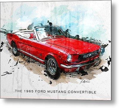 The Red Pony 2 Metal Print by Gary Bodnar