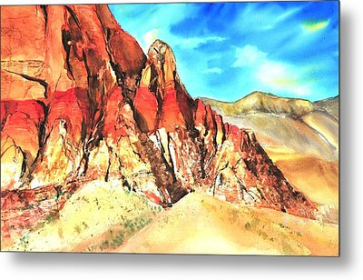 Red Rock #1 Metal Print