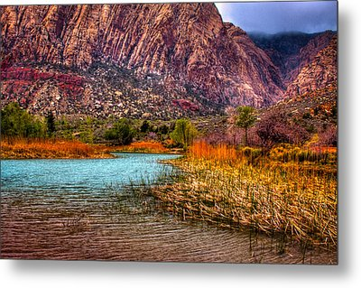 Red Rock Canyon Conservation Area Metal Print