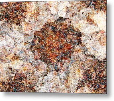 Red Rock Canyon - Soft Rock Metal Print by Stephanie Grant