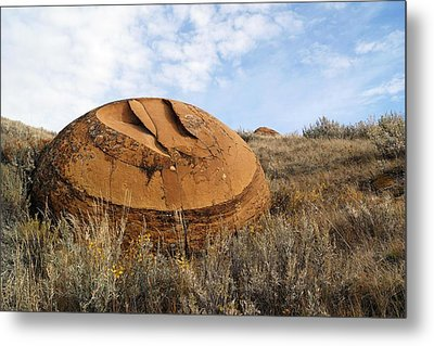 Red Rock Coulee I Metal Print by Leanna Lomanski