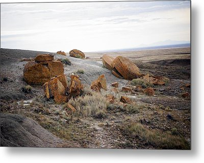 Red Rock Coulee II Metal Print by Leanna Lomanski