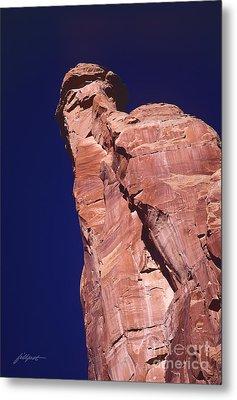 Red Rock Spier Metal Print