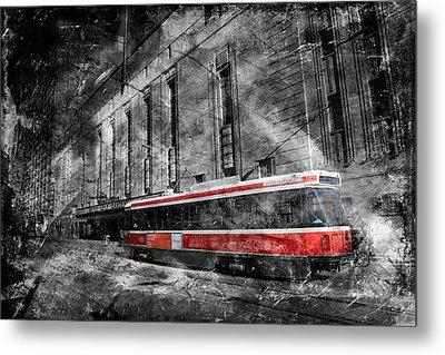 Red Rocket 23d Metal Print by Andrew Fare