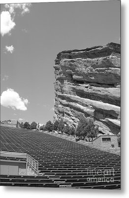 Red Rocks Metal Print by Barbara Bardzik