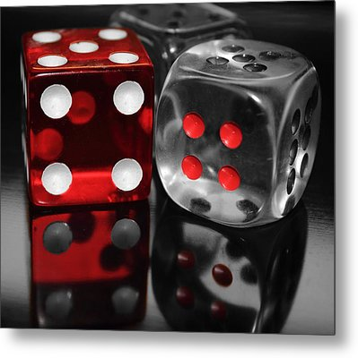 Red Rollers Metal Print by Shane Bechler