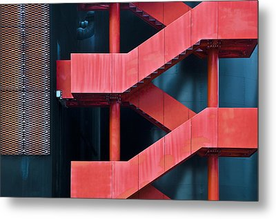 Red Route Metal Print