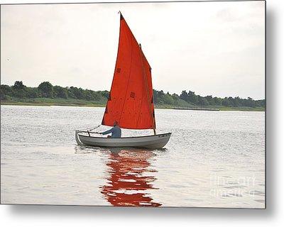 Red Sails Metal Print by Bob Sample