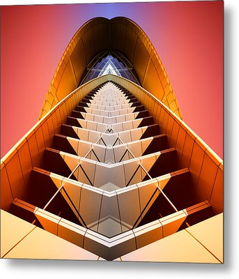 Red Shift Metal Print by Wayne Sherriff