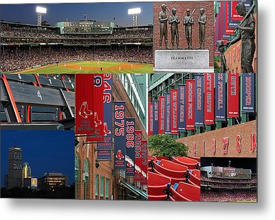 Red Sox Nation Metal Print by Juergen Roth