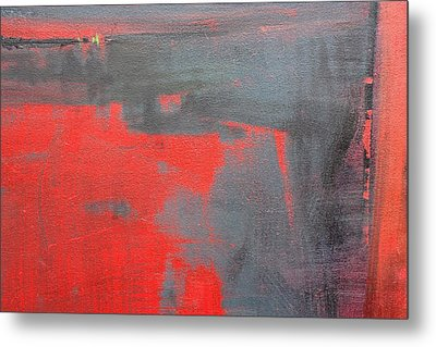 Red Square Dissected IIi  C2010 Metal Print by Paul Ashby