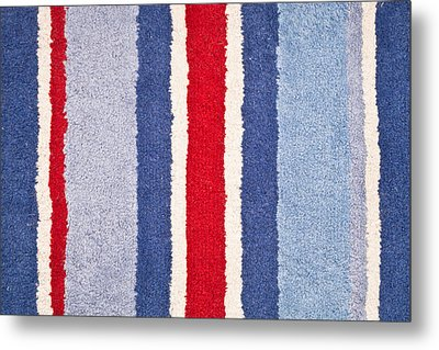 Red White And Blue Metal Print by Tom Gowanlock