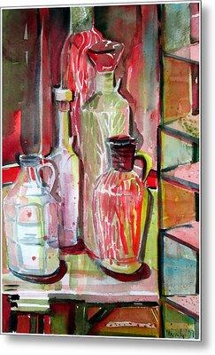 Red Wine Vinegar Metal Print