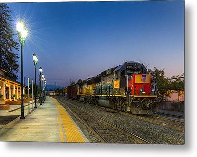 Redding Depot Metal Print
