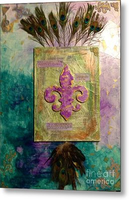 Redeeming The Time Metal Print by Michelle Bentham