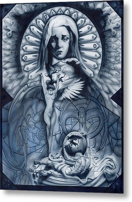 Redemption Metal Print by Luis  Navarro