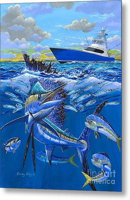 Reef Sail Off00151 Metal Print by Carey Chen