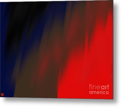 Metal Print featuring the digital art Reentry by Andy Heavens