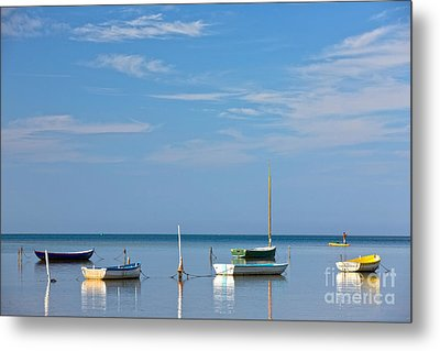 Refections Metal Print by Anthony Calleja