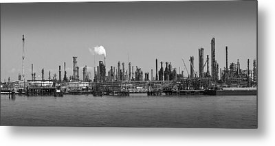 Metal Print featuring the photograph Refinery Might by Ricky L Jones