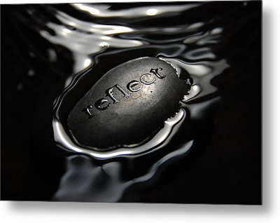Reflect Metal Print by Michael Donahue