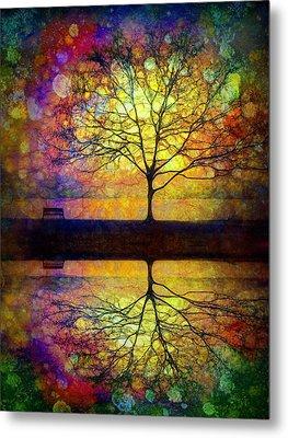 Reflected Dreams Metal Print