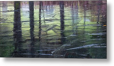 Reflecting On Transitions Metal Print