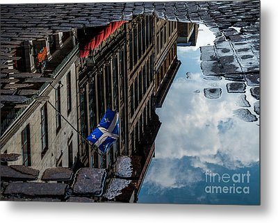 Reflecting Upon Quebec Metal Print